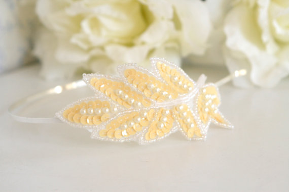 handmade wedding headband