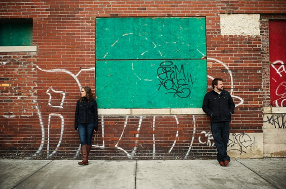 Detroit Engagement Session - Sarah Kossuch Photography