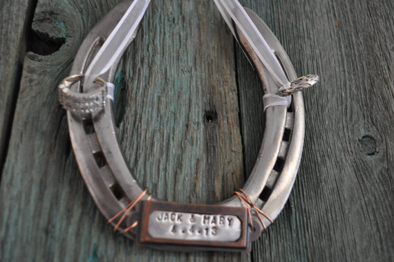 ring bearer horseshoe