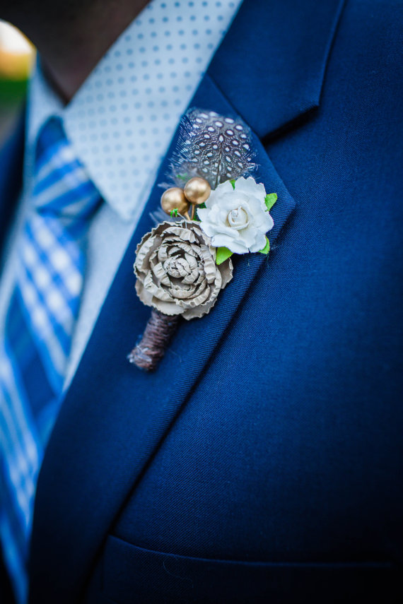 50 best rustic wedding boutonnieres emmaline bride junglespirit Images