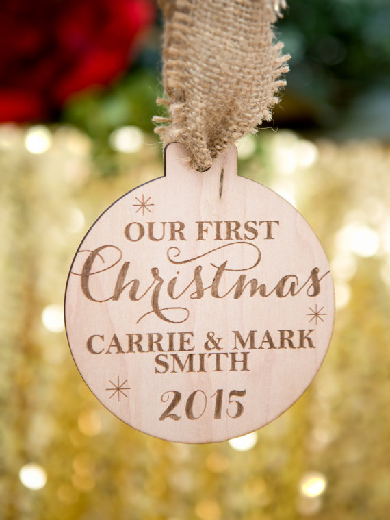 First Christmas ornaments engaged/married via 50+ First Christmas Ornaments Engaged / Married