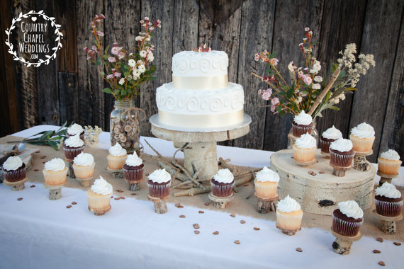 cake stand by country chapel
