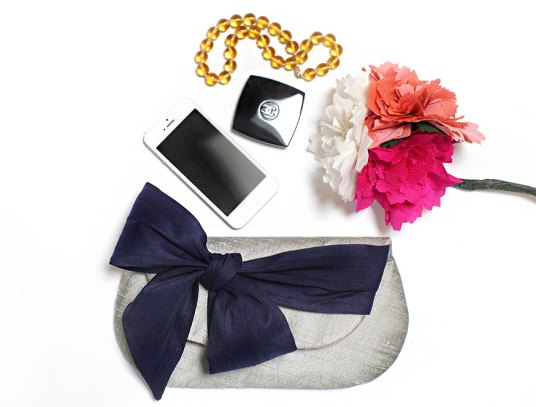bridesmaid gift clutch