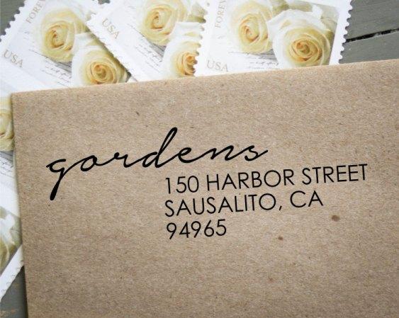 custom address stamp - image 3