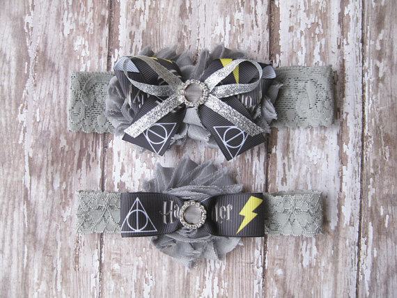 harry potter garter