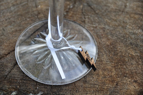 harry potter wedding wine charms