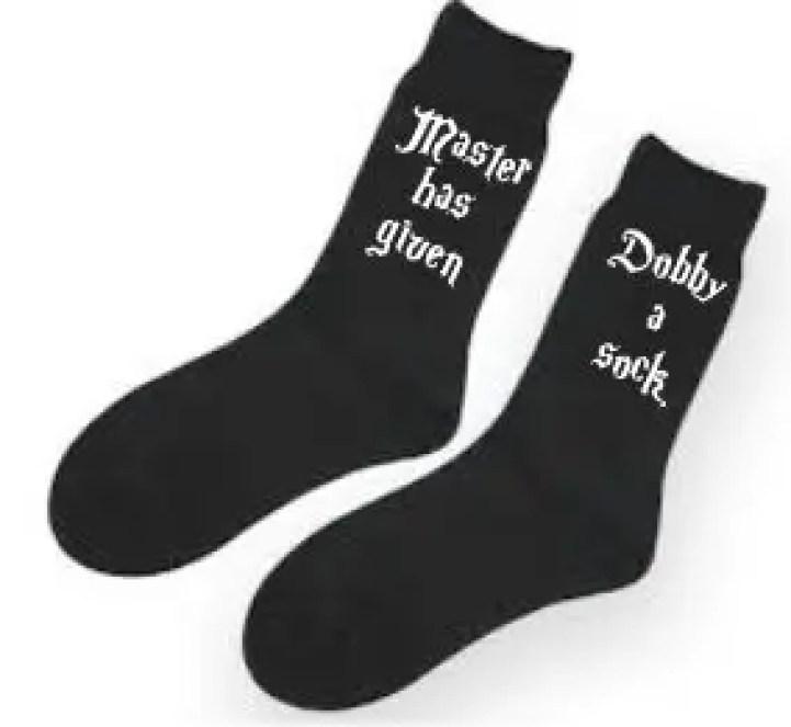 master has given dobby a sock