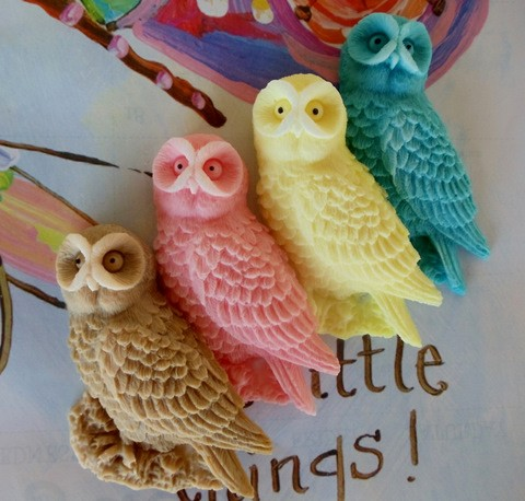 owl soap favors by bubble city soap