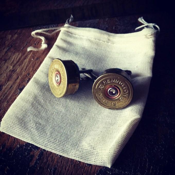 shotgun cufflinks by DieselLaceDesign
