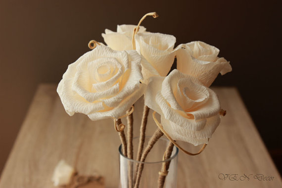 paper roses that last forever by vendecor