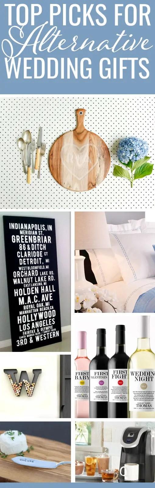 Alternative Wedding Gift Ideas: Top Picks to Inspire You