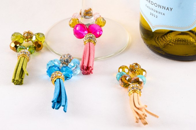 fringe wine charms