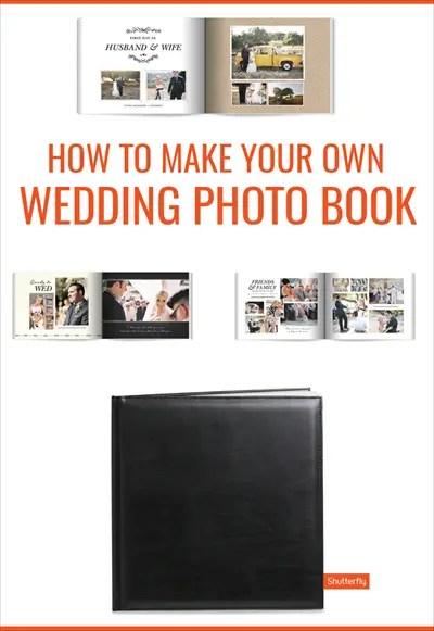Make Your Own Wedding Photo Book: Shutterfly Wedding Photo ...