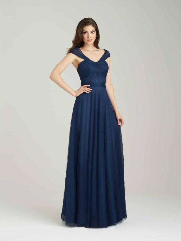allure bridals navy - 2