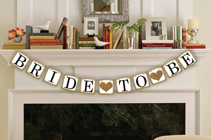 bride to be banner by bannersloft