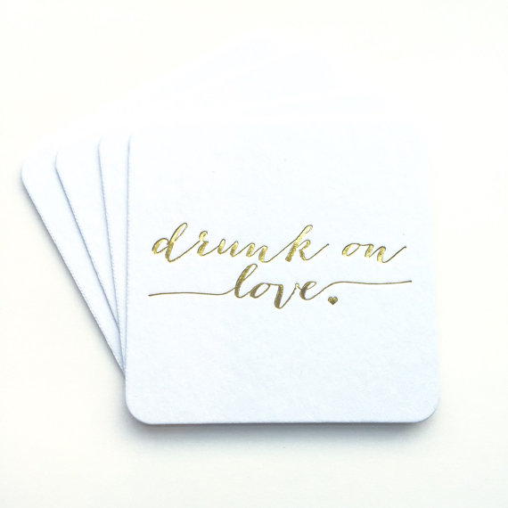 drink on love coasters