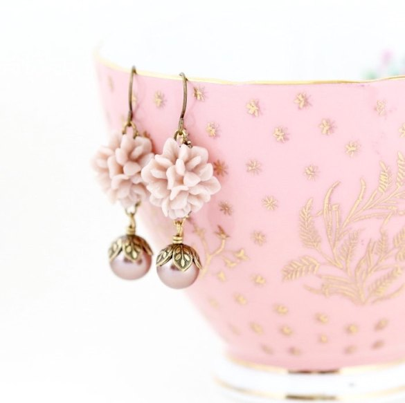 Vintage Style Bridesmaid Earrings Under $20
