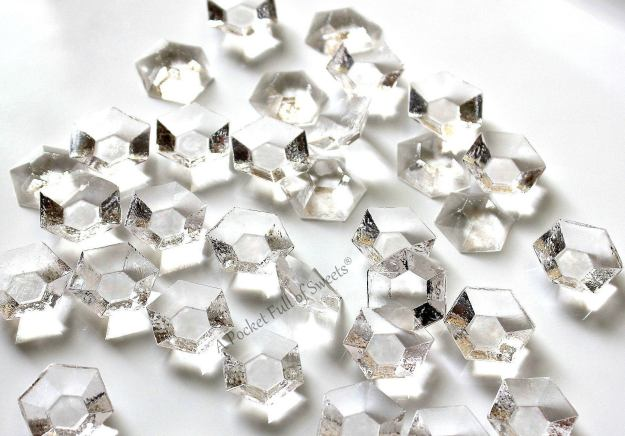 edible diamonds by apocketfullofsweets