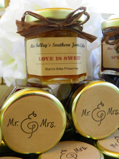 mr and mrs tops of jars