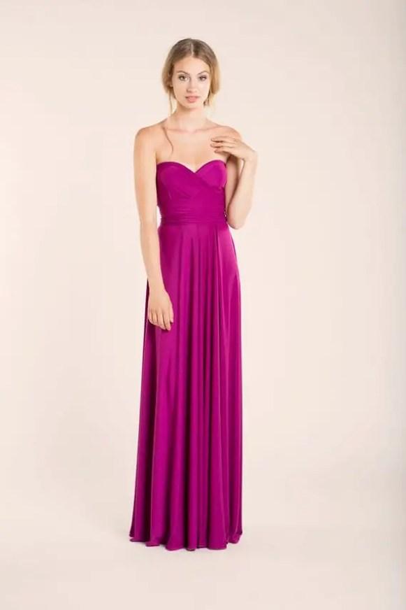 orchard strapless dress