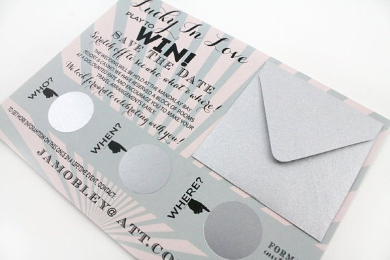 scratch off save the dates grey