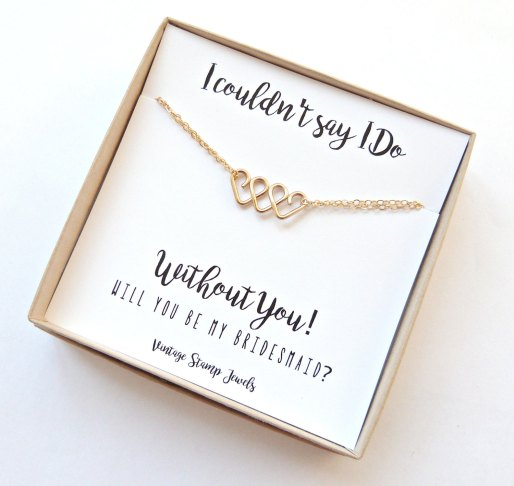 be my bridesmaid jewelry