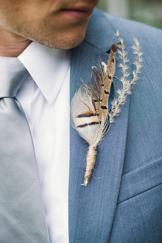 21 Most Unique Boutonniere Ideas for Weddings | Emmaline Bride®