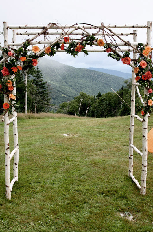 ceremony arch by blueskiesforever | Where to Buy Wedding Arches | http://emmalinebride.com/ceremony/arches-weddings/