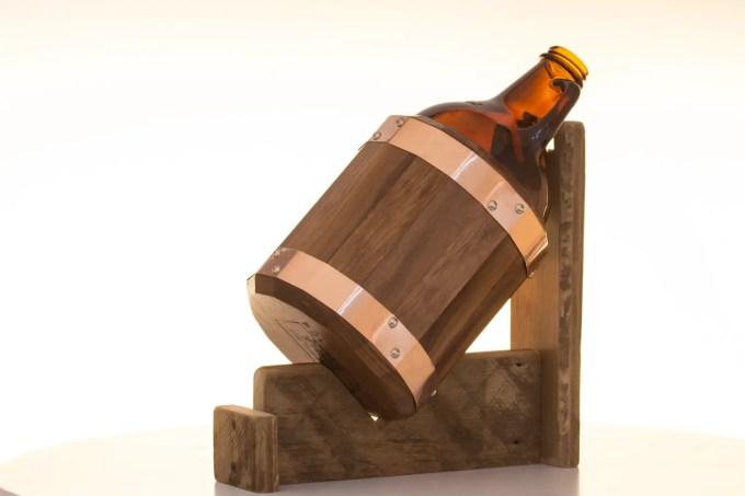 dark walnut | the growler girdle - groomsmen gift for beer lovers