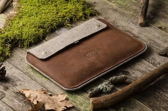 leather ipad case by crazyhorsecraft