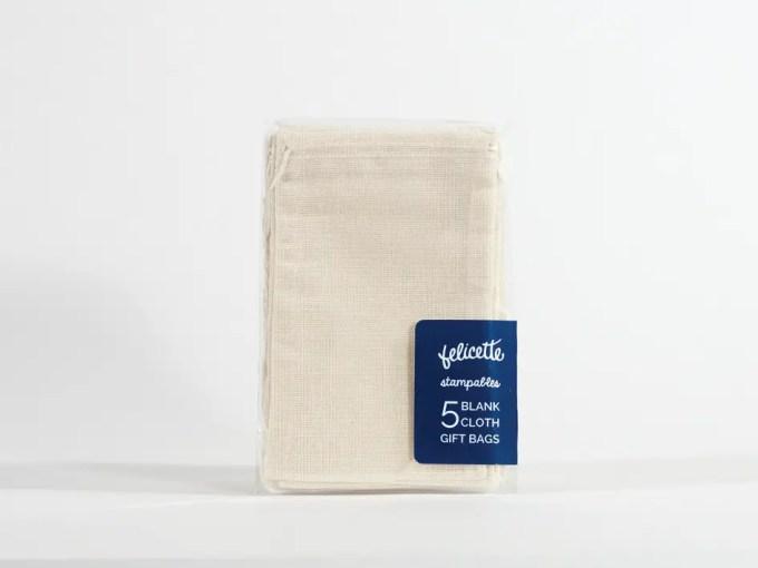 blank cloth bags