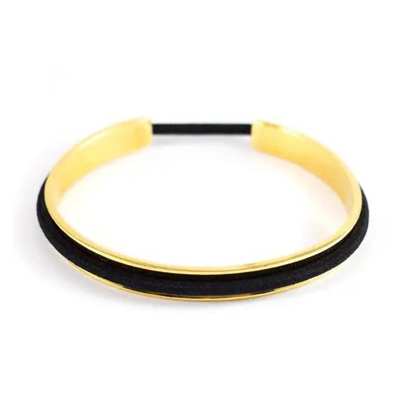 hair tie bracelets - left image