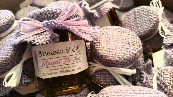 honey jar wedding favors | by southern jellies and jams