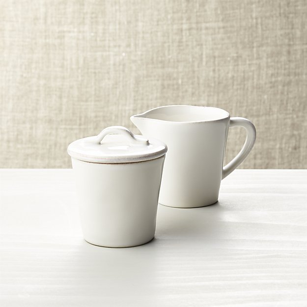 sugar and creamer | 9 Things I Wish Had Registered For | http://emmalinebride.com/planning/9-things-wish-had-registered-for/