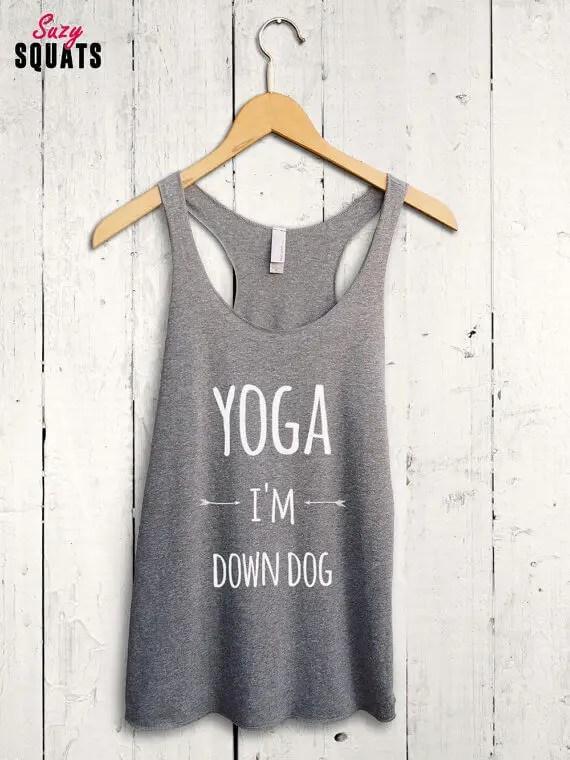 yoga im downdog