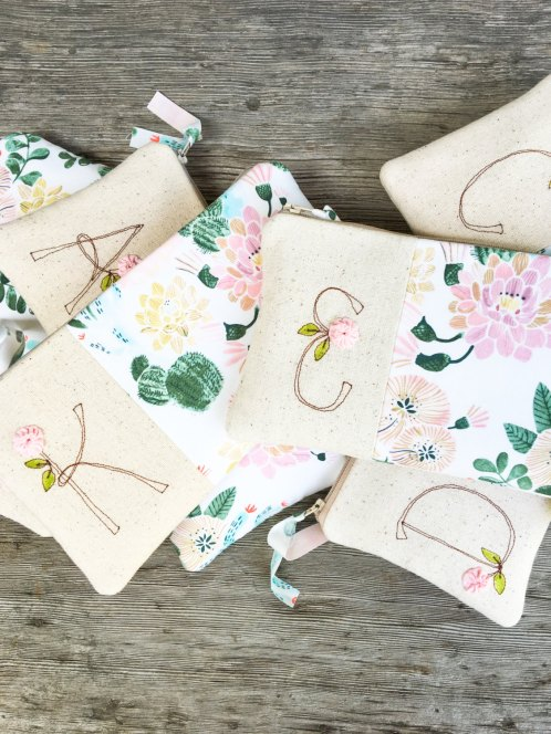boho floral clutches mamableudesigns 2