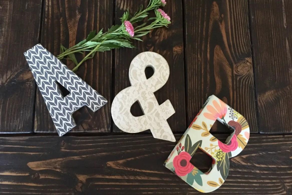 letters by MorrisHandmade