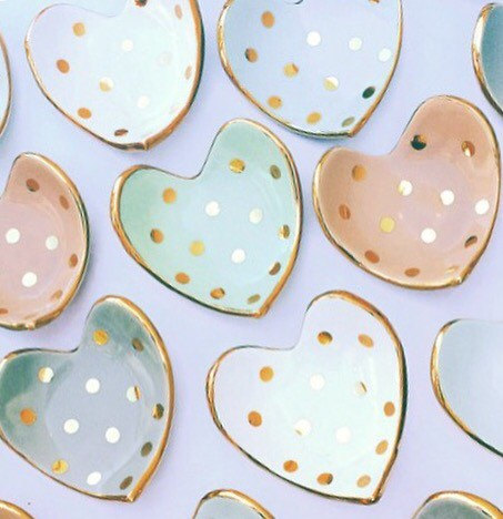Heart Shaped Ring Dish — Handmade-a-Day
