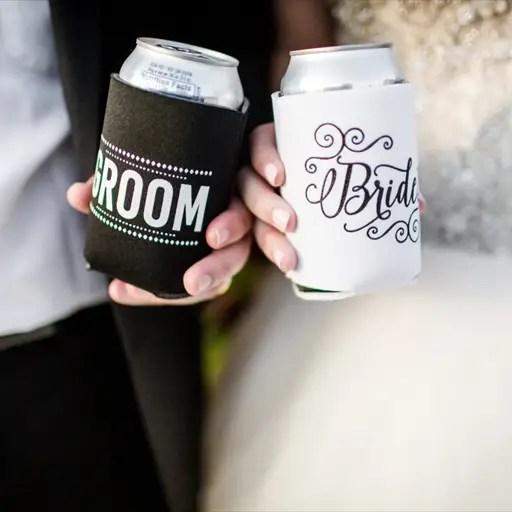 drink-koozies-bride-and-groom
