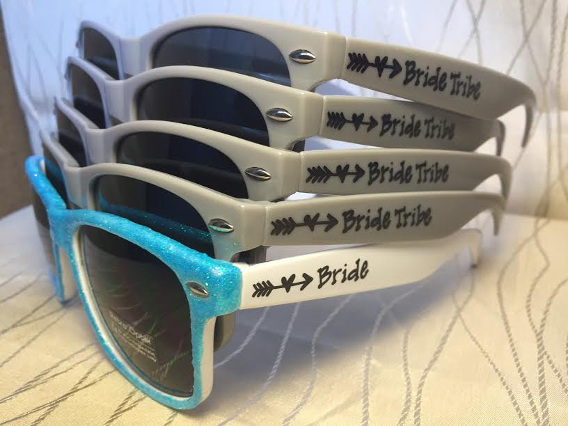 These are the cutest bride tribe sunglasses for your bridesmaids to wear!