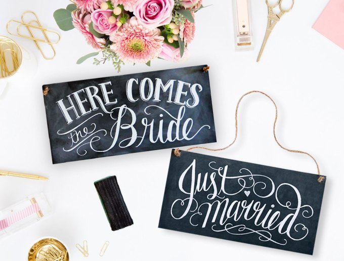 here-comes-the-bride-and-just-married-sign-reversible