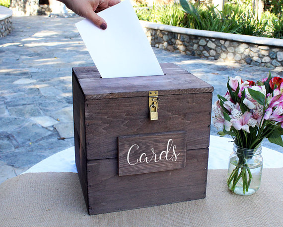 How to Secure Wedding Card Box? - Wedding Advice | Emmaline Bride