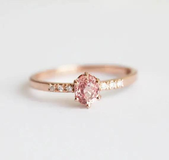 100 Best NonTraditional Engagement Rings Emmaline Bride