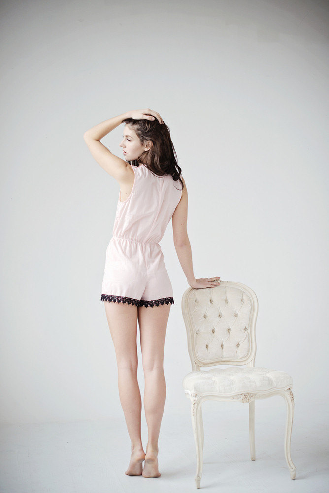 black-and-pink-romper-back