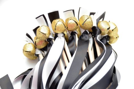 black-and-white-ribbon-wands-with-bells