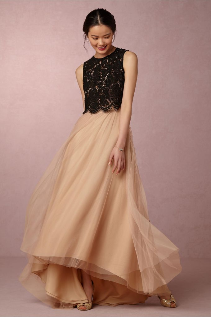 d2a8e86281fc Bridesmaid Tulle Skirts | by Jenny Yoo for BHLDN | http://emmalinebride.