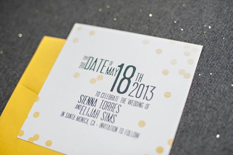 save the date vs invitation? - ask emmaline | http://emmalinebride.com/invites/save-the-date-vs-invitation/