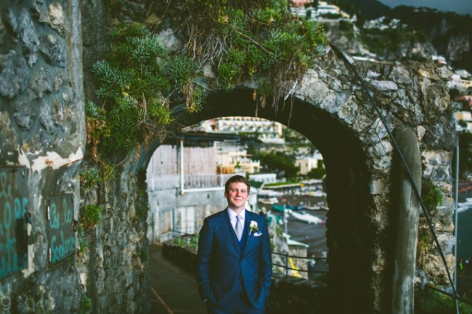 Positano Italy Real Wedding: Carlena and Andrew | photo by Carolyn Scott Photography