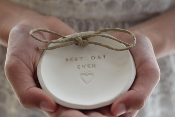 best day ever ring dish by orlydesign