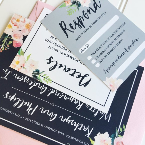 navy-and-pink-wedding-invitations